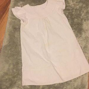 Hannah Anderson white dress